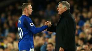 Wayne Rooney and Sam Allardyce - cropped