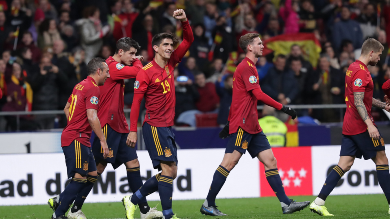 EC 2020 Qualification Report: Spain 5-0 Romania - La Roja cap off Euro 2020 qualifying in style
