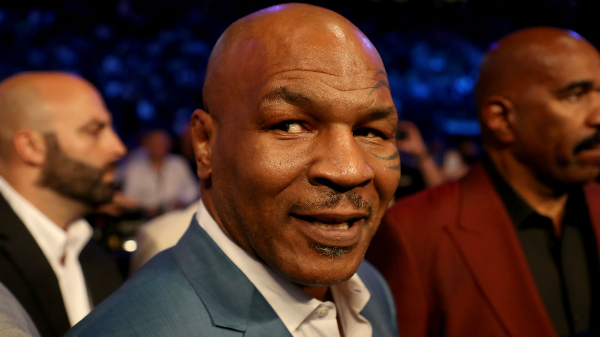Mike Tyson declares 'I'm back' during ferocious training session