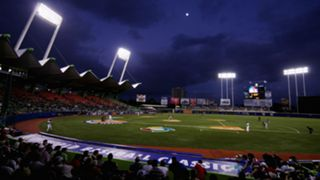 Hiram Bithorn Stadium in San Juan