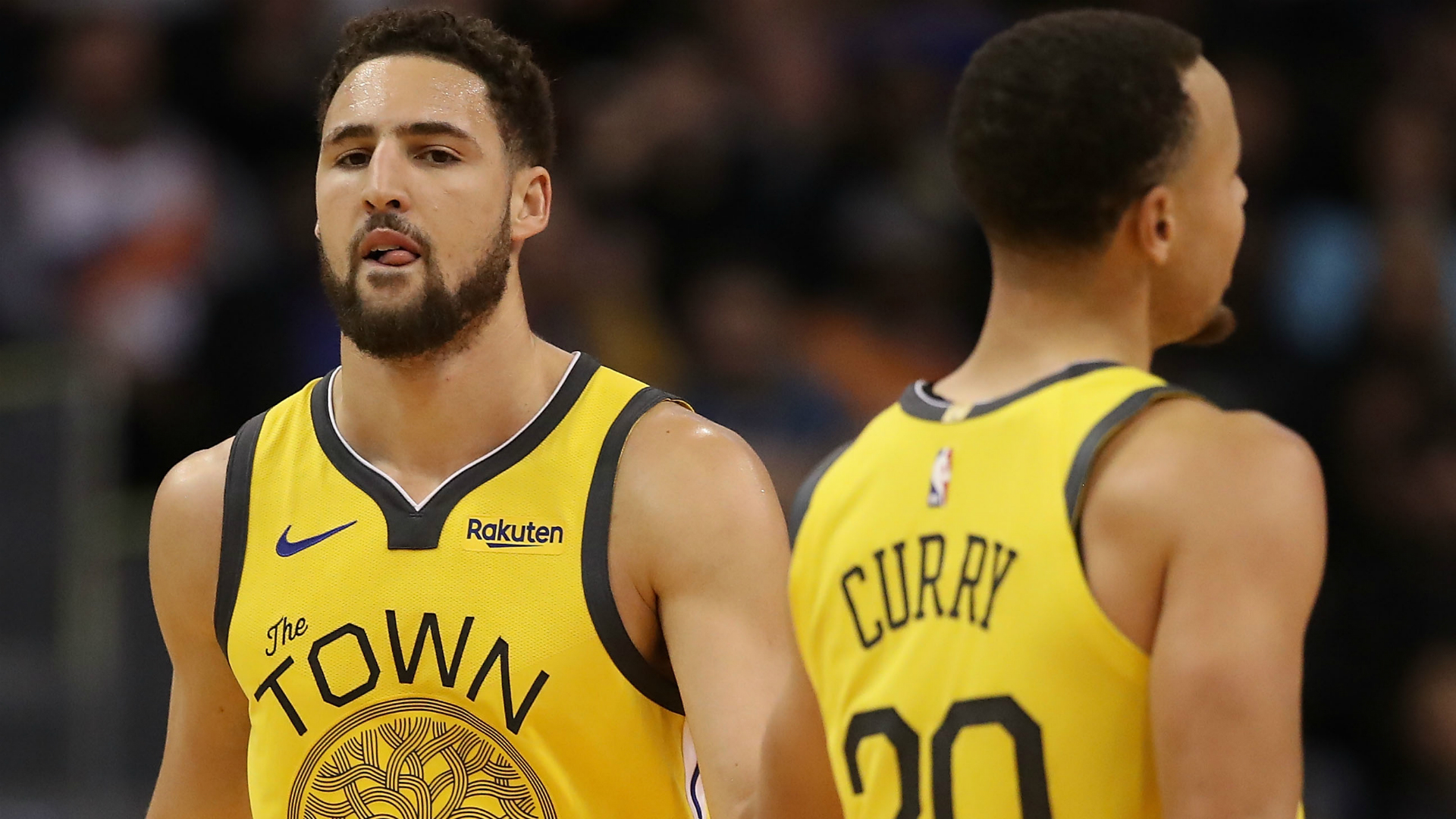 Warriors' Stephen Curry, Klay Thompson take part in Oakland protest
