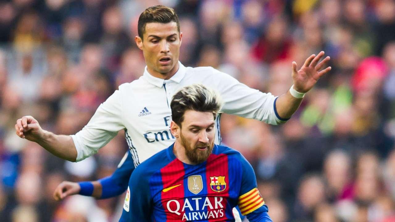 Cristiano Ronaldo Lionel Messi - cropped