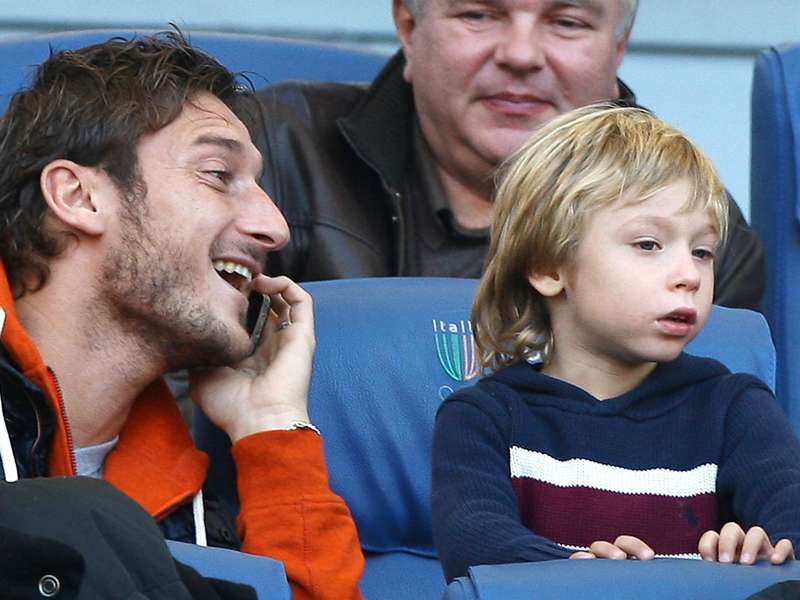 Totti: My son is good - but not as good as me