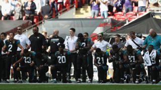 Jaguars national anthem protest