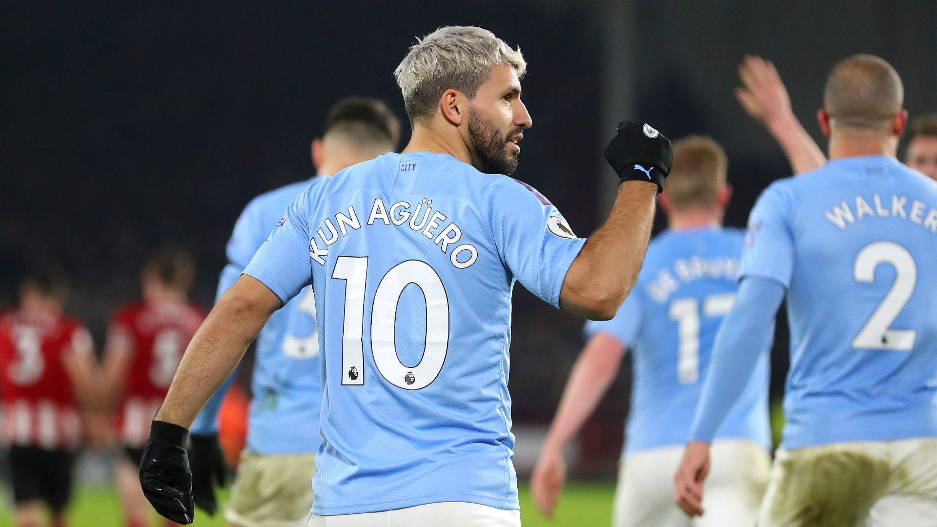 Sheffield United 0-1 Manchester City: Super-sub Aguero rescues champions after Henderson heroics
