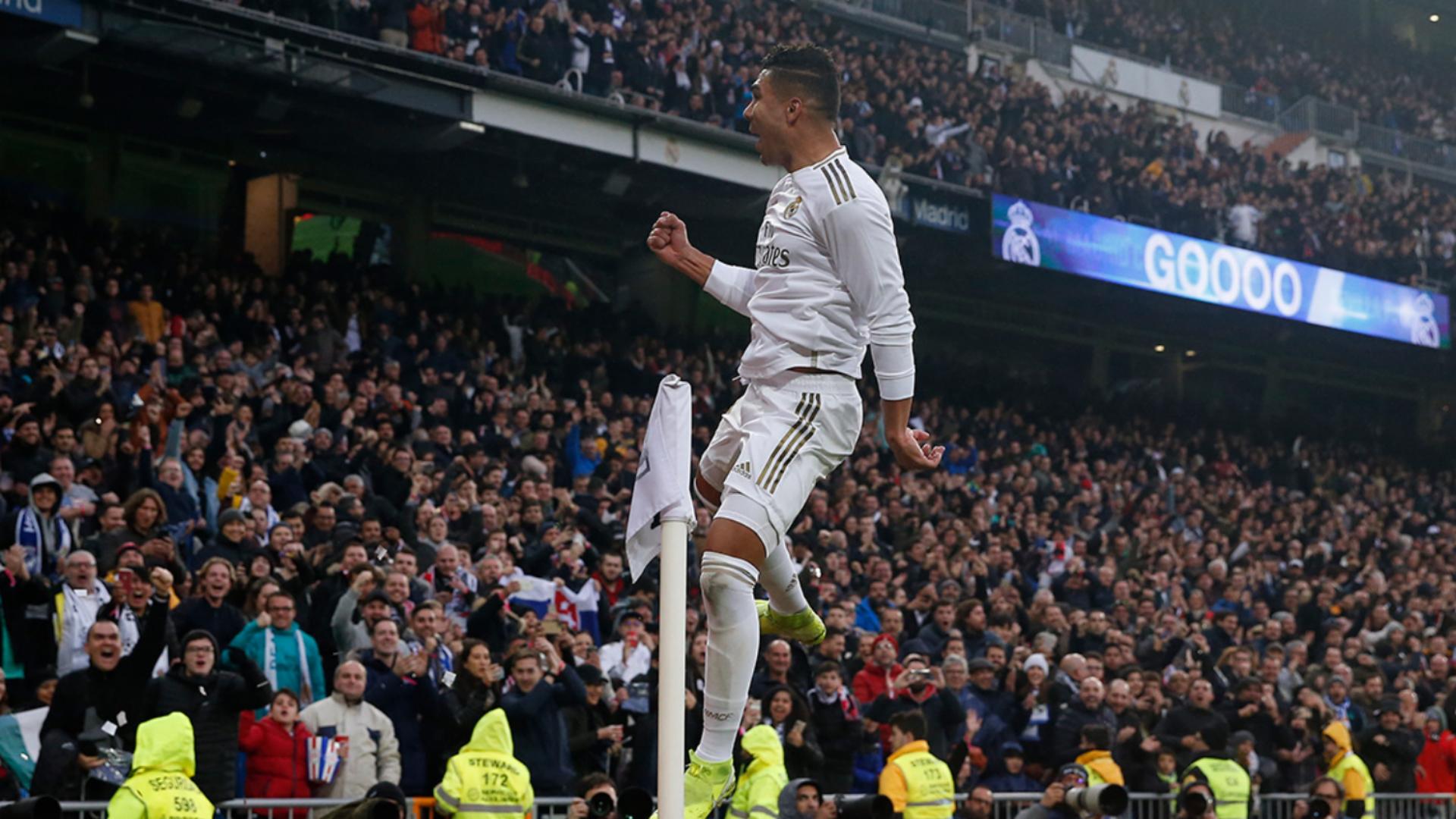 Real Madrid 2-1 Sevilla: Casemiro double frustrates Lopetegui