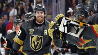 James Neal celebrates his goal