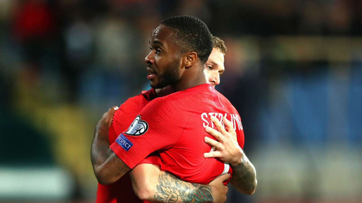 EC 2020 Qualification Report: Bulgaria 0-6 England - Barkley and Sterling at the double as racism mars Sofia clash