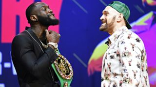 Deontay Wilder and Tyson Fury - cropped