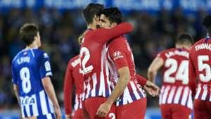 Simeone praises Costa & Morata despite slow start for Atletico