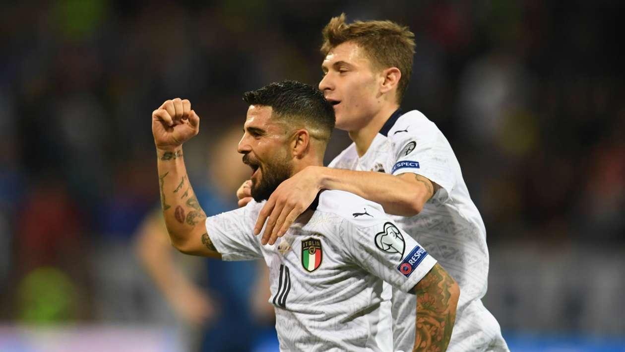 EC 2020 Qualification Report: Bosnia-Herzegovina 0-3 Italy - Mancini's men coast to record-breaking 10th straight win