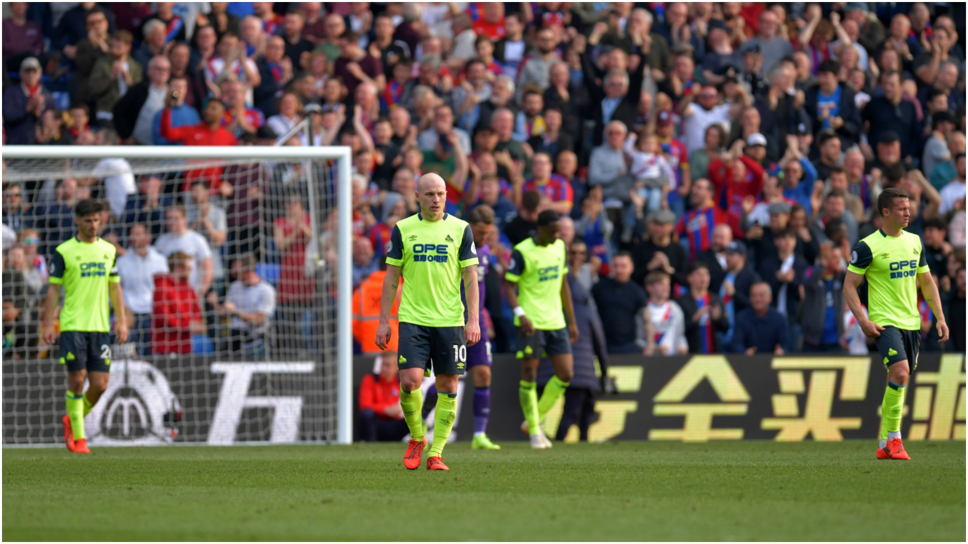 Premier League news: Huddersfield Town relegated from Premier League | Goal.com