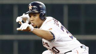 The Astros' Carlos Gomez