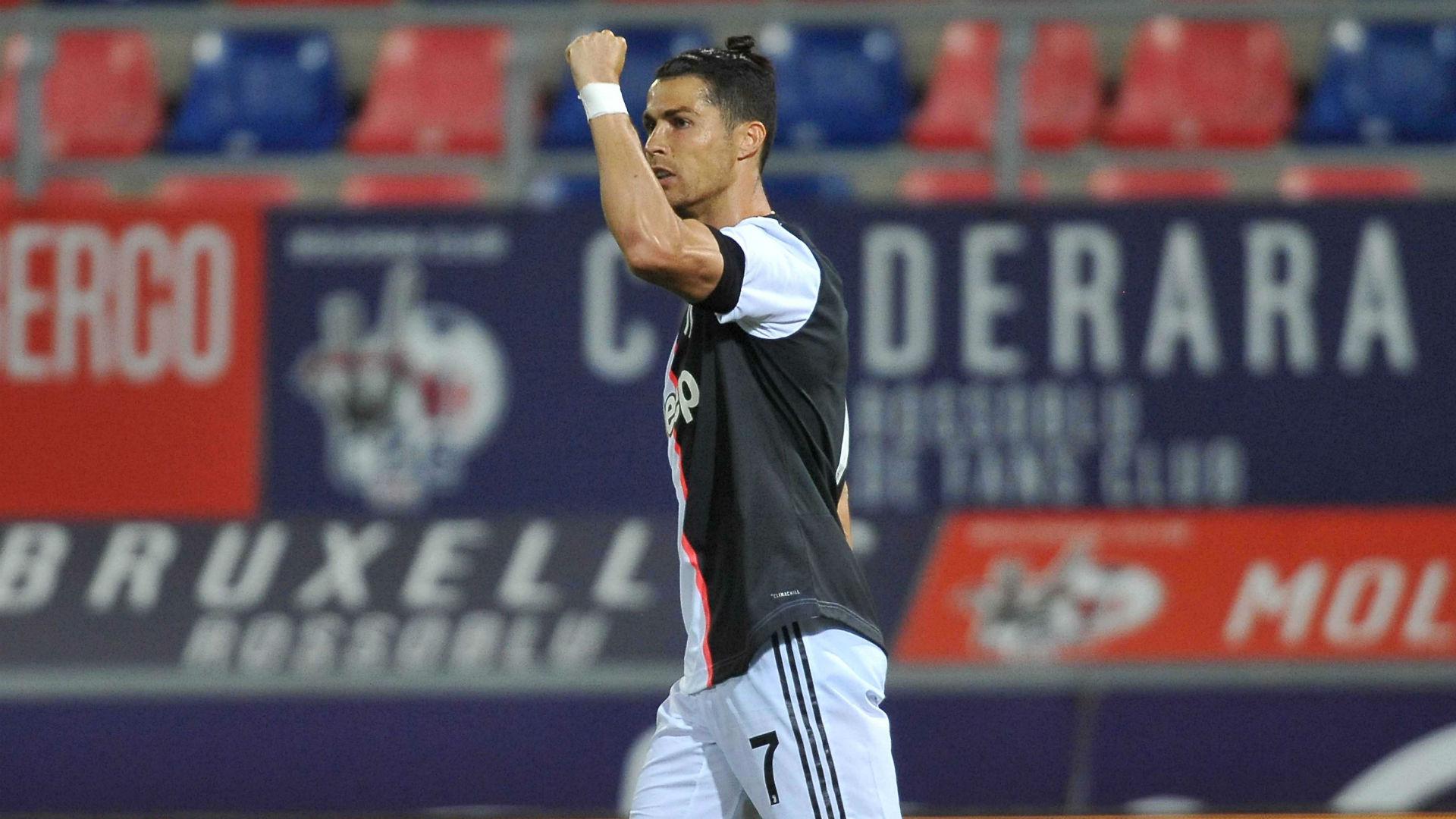 Bologna 0-2 Juventus: Ronaldo scores as normal service resumes for champions