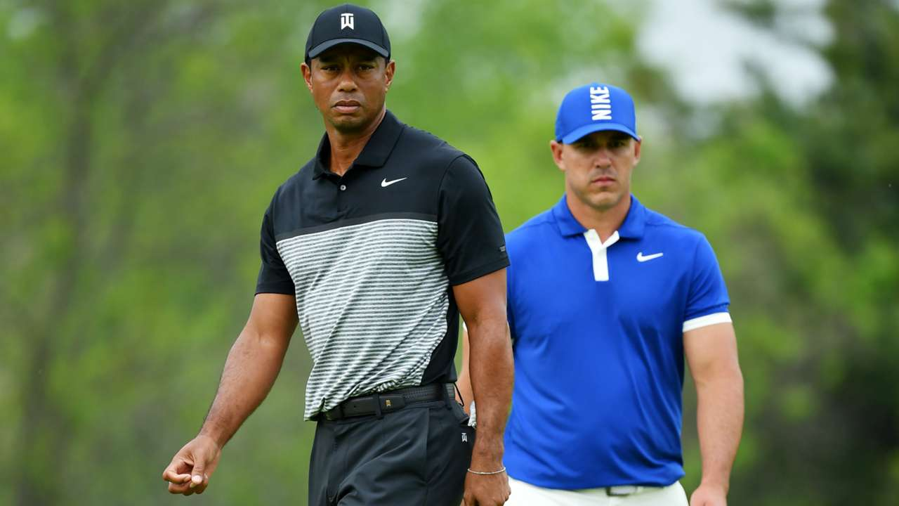 Woods and Koepka - Cropped