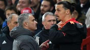 Jose Mourinho and Zlatan Ibrahimovic - cropped