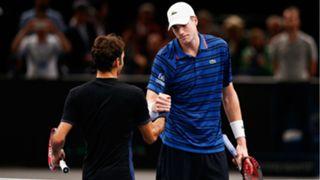 John Isner, Roger Federer