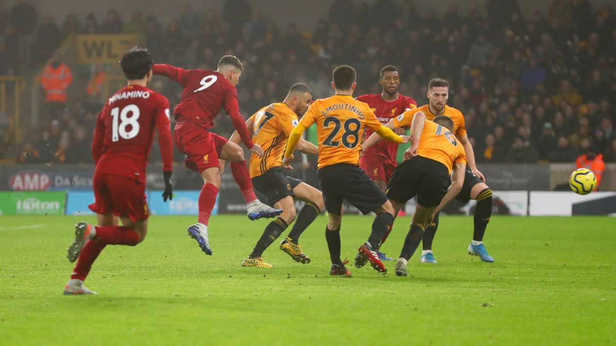 BPL (2019-2020) Report: Wolves 1-2 Liverpool - Firmino keeps Reds rolling after Mane injury