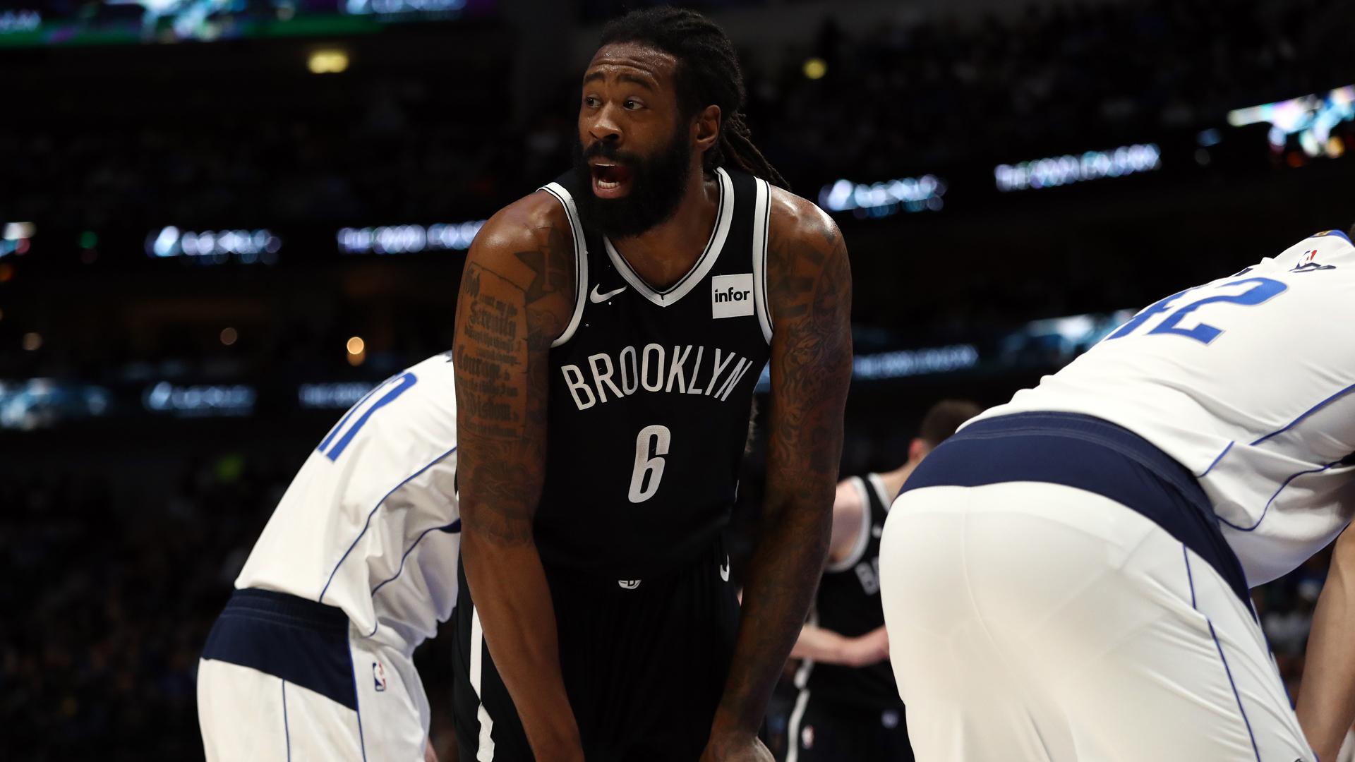 Nets' DeAndre Jordan tests positive for