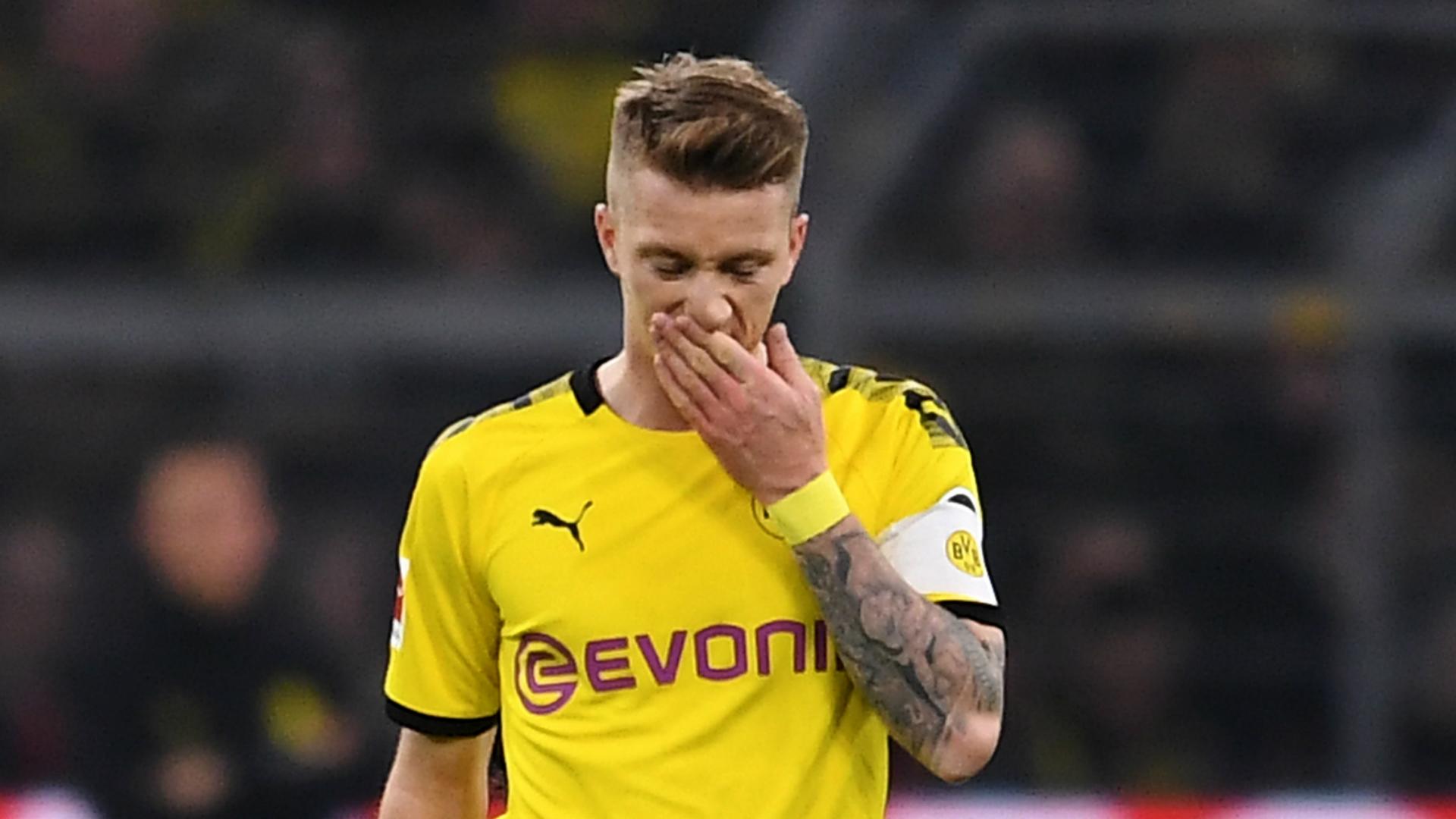 Dortmund not giving up on Reus return this season, says Favre
