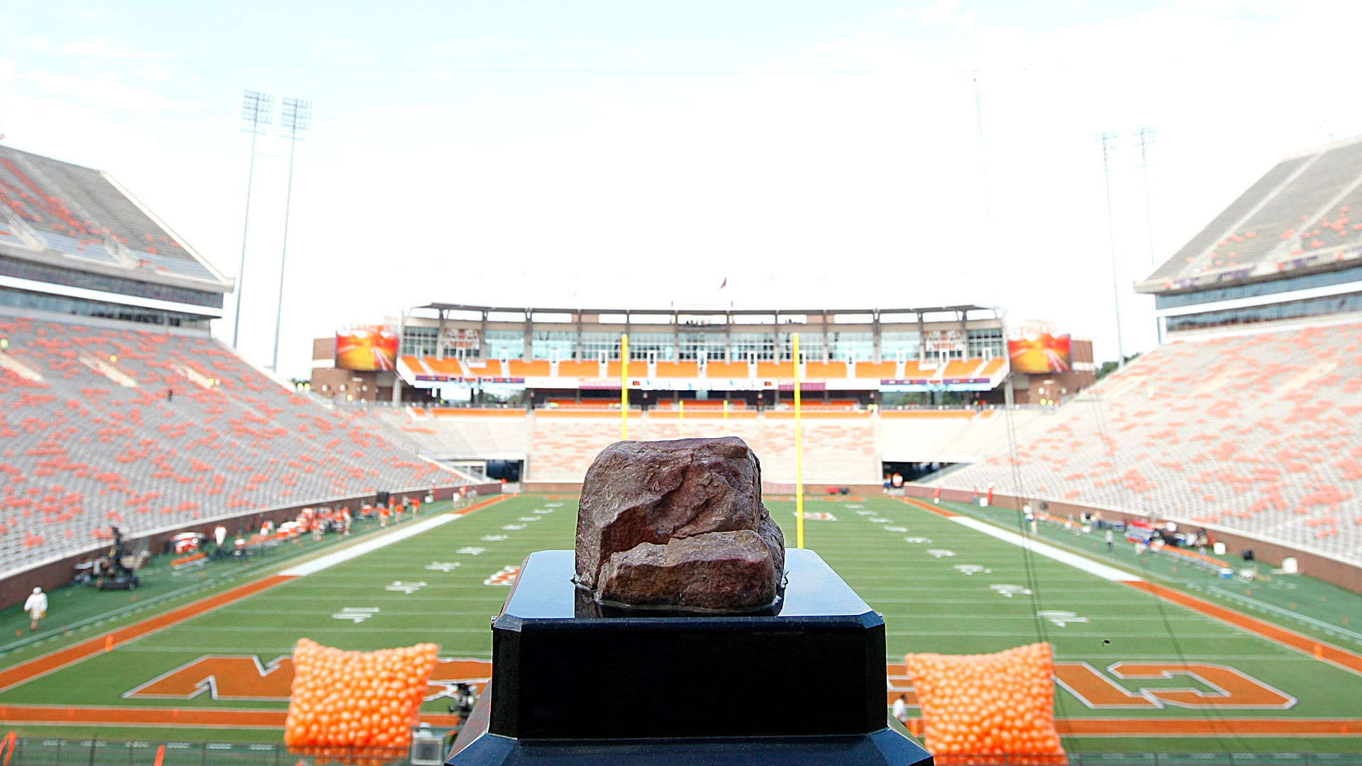 Case Protecting Clemson S Iconic Howard S Rock Vanadlized Sporting News Michael douglas stars with annette bening in 1995's the american president, in which he plays a clintonesque commander in chief. case protecting clemson s iconic howard