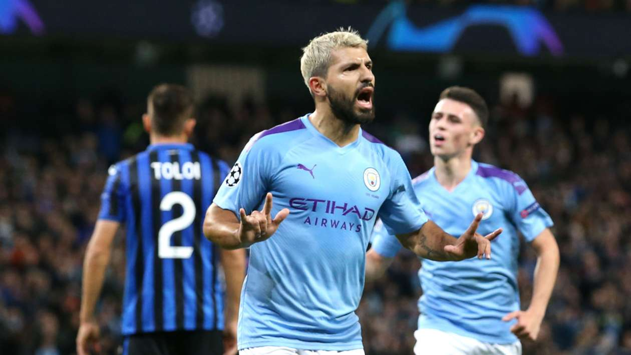 UCL (2019-2020) Report: Manchester City 5-1 Atalanta - Sensational Sterling nets a hat-trick before Foden sees red