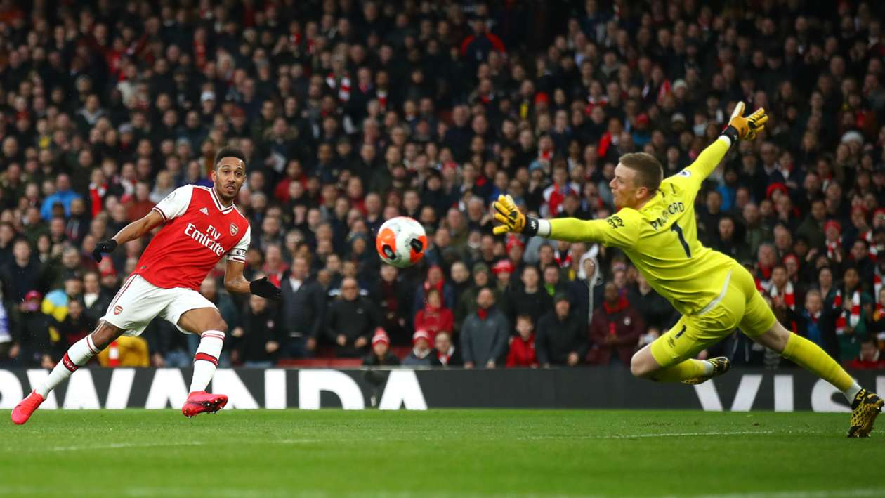 BPL (2019-2020) Report: Arsenal 3-2 Everton - Aubameyang's Sunday best sinks Toffees