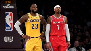 LeBron James and Carmelo Anthony - cropped