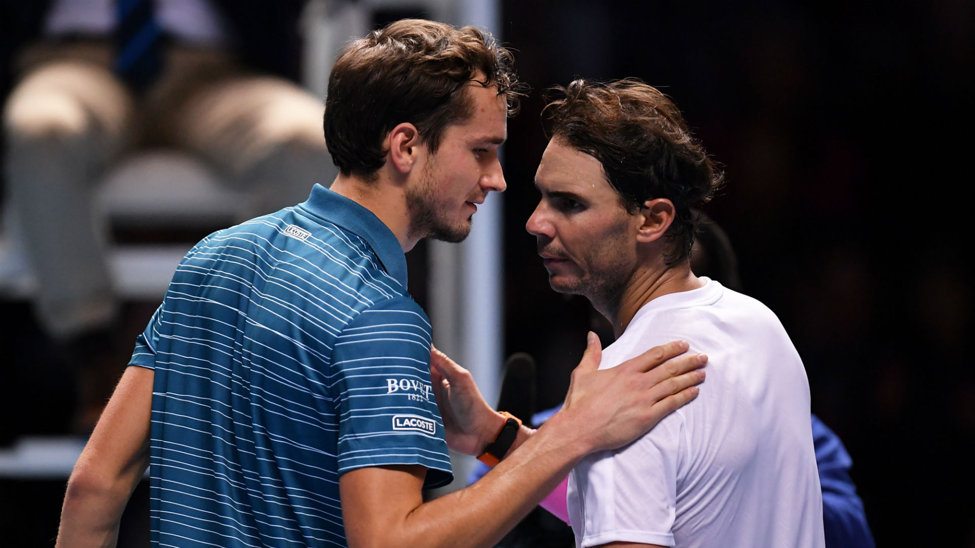 Rafael Nadal apologises to Daniil Medvedev after miracle ATP Finals comeback
