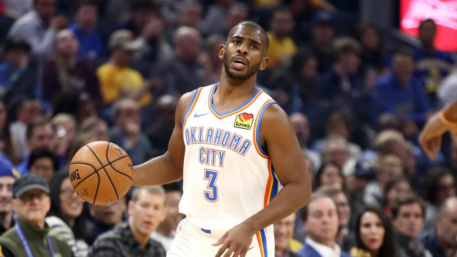 NBA players 'want to play bad,' says Chris Paul