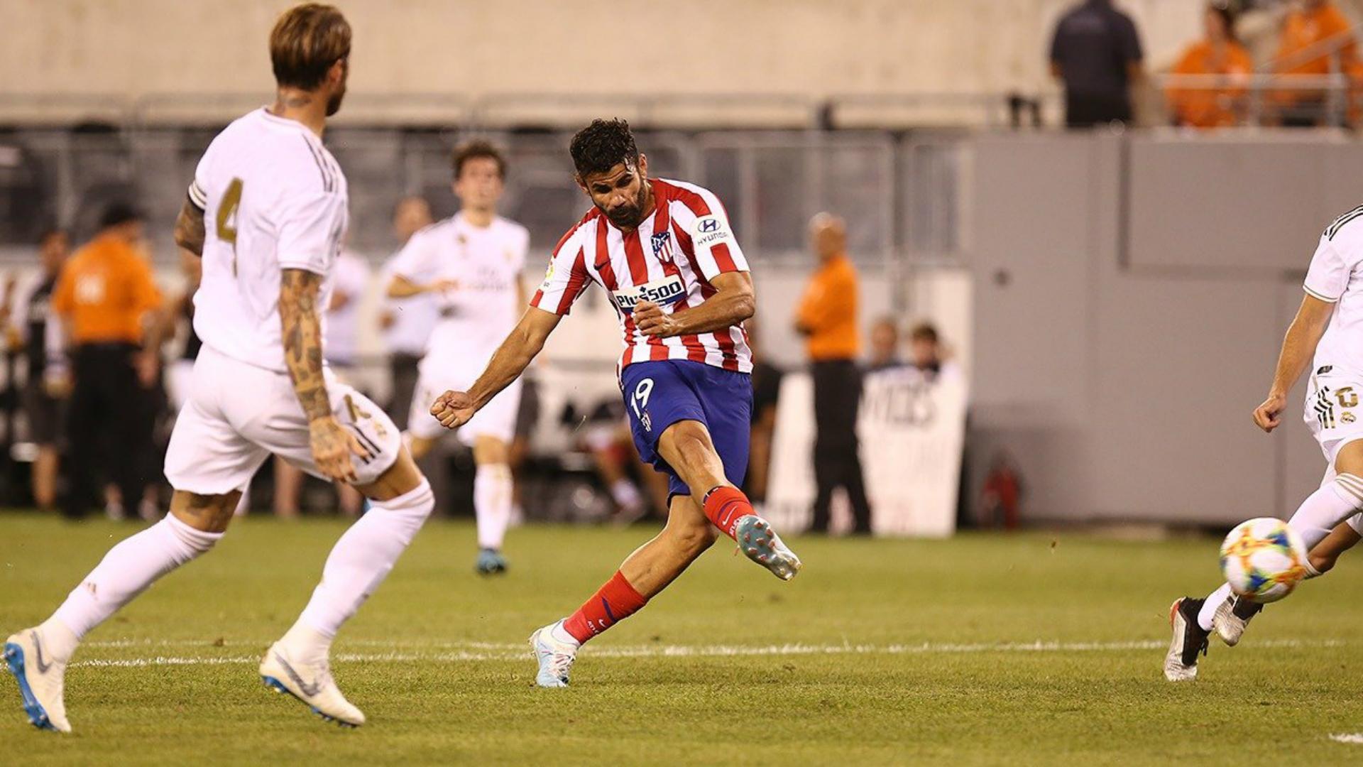 Real Madrid V Atlético Madrid Match Report 27 07 2019 International Champions Cup Goal Com