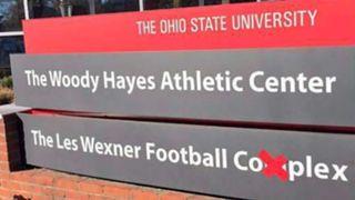 Ohio State campus sign
