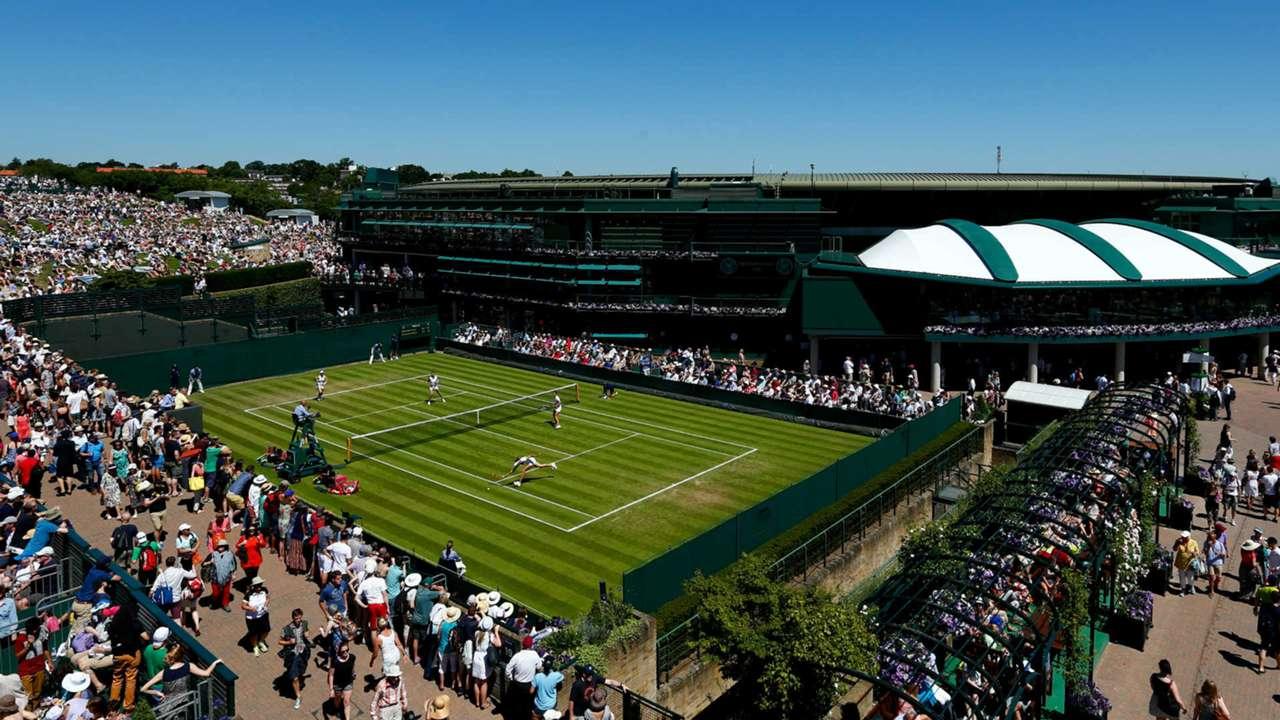 Wimbledon's No. 1 court
