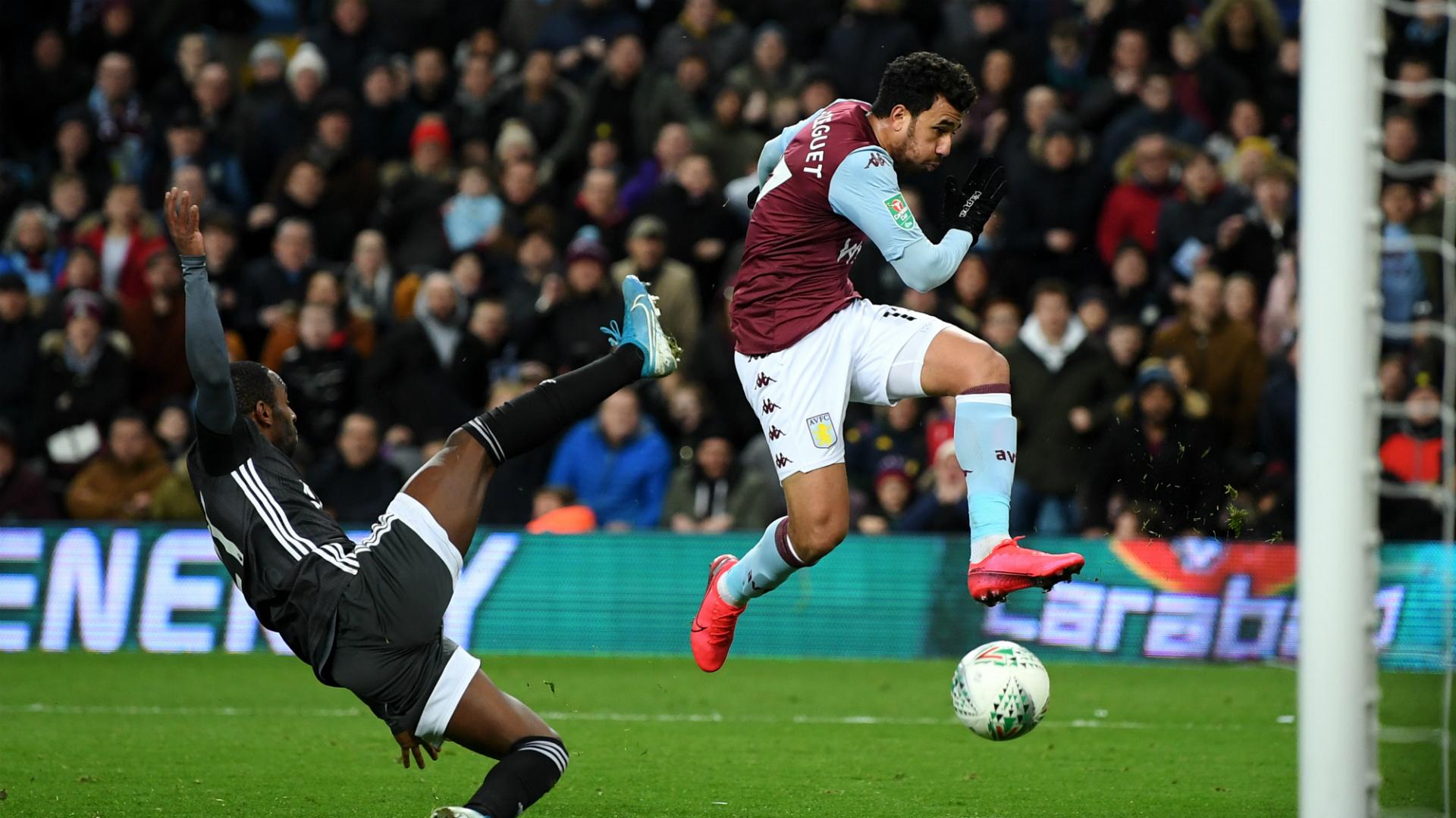 Aston Villa 2-1 Leicester City (3-2 agg): Trezeguet winner sends Villa to Wembley
