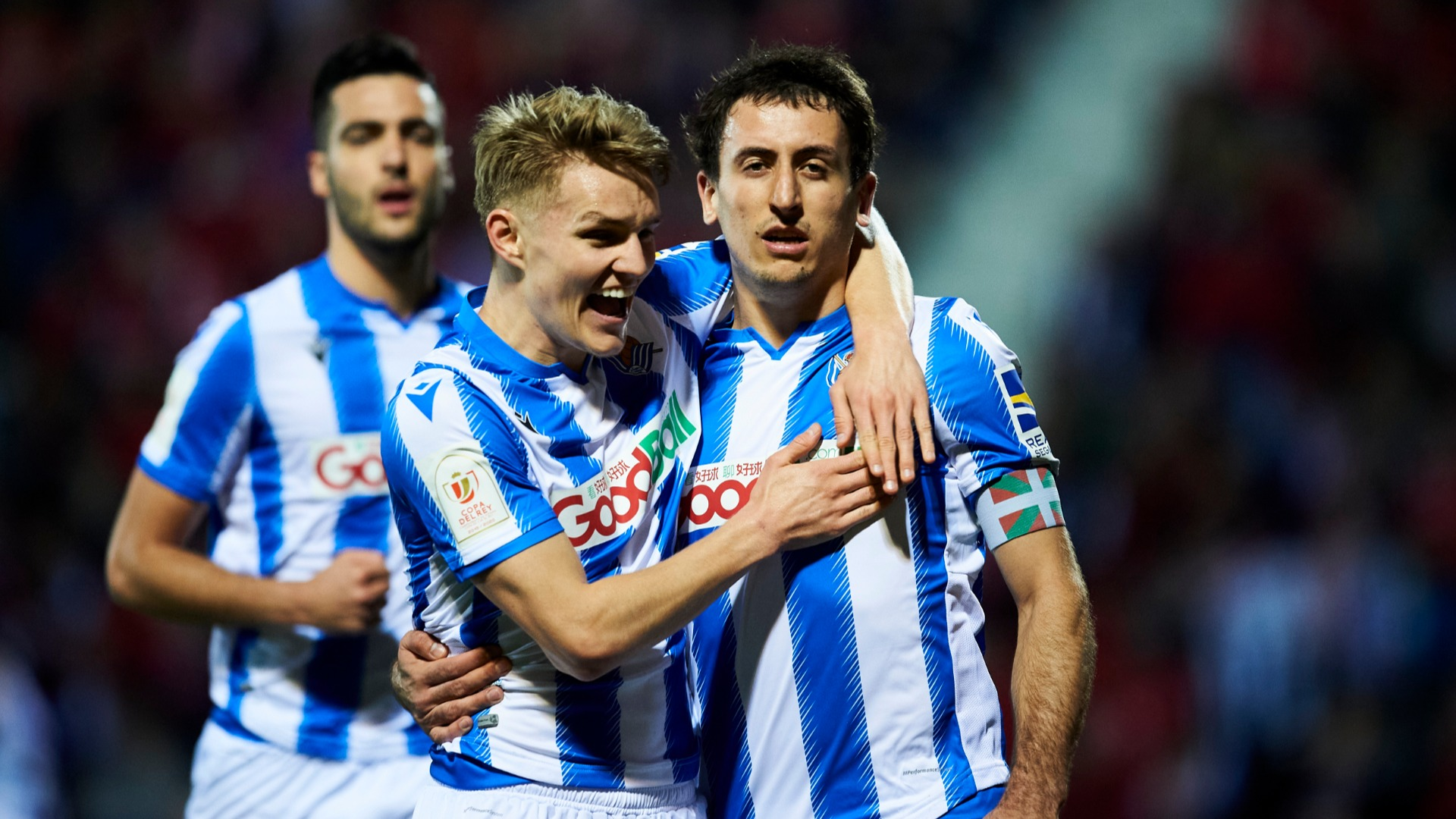 Mirandes 0-1 Real Sociedad (1-3 agg): Sixth straight win ends 32-year wait for Copa final