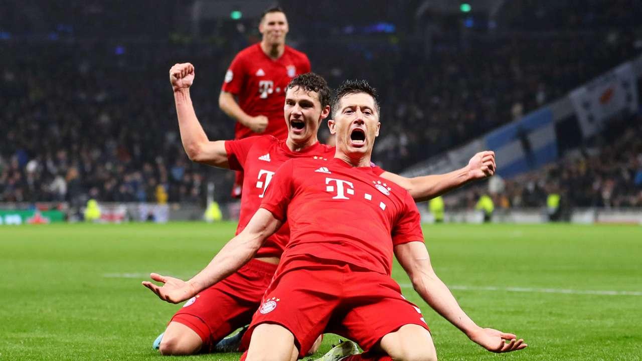 Bayern Munich players - cropped