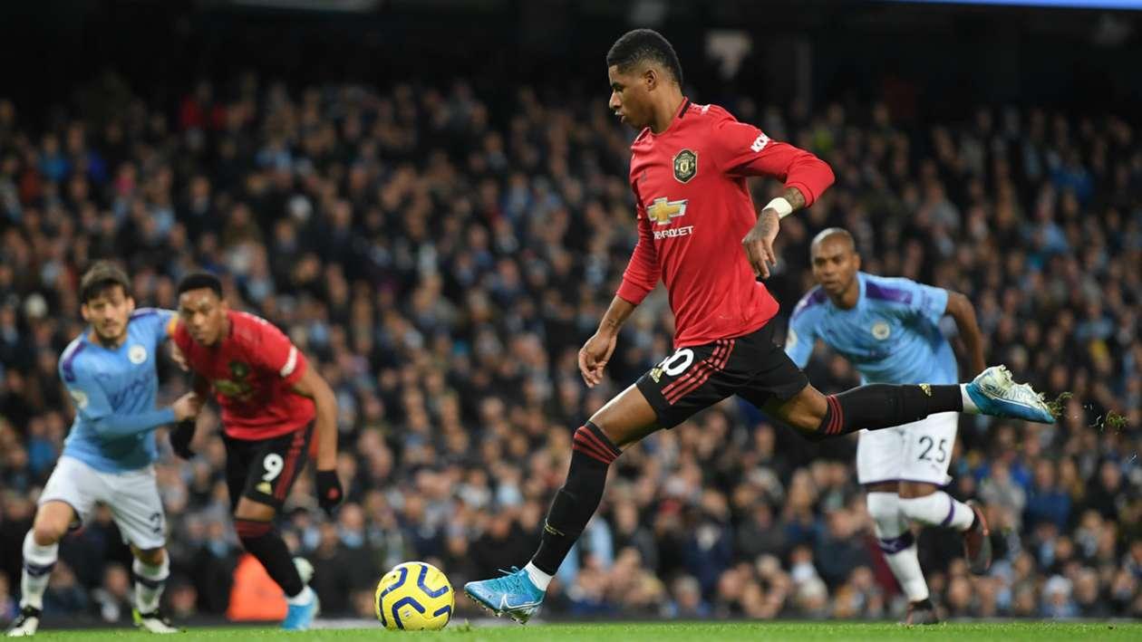 BPL (2019-2020) Report: Manchester City 1-2 Manchester United - Rashford and Martial land big win for Solskjaer