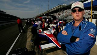 Al Unser Jr. in 2007, the last year he ran the Indy 500