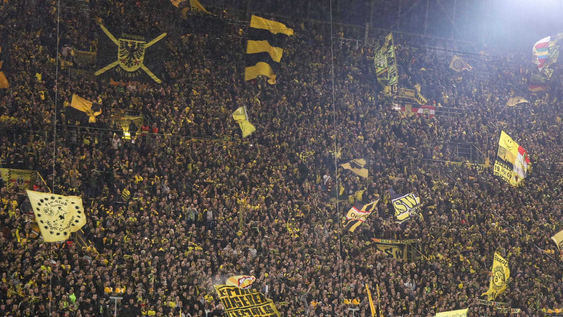 Dfb Demands Closure Of Borussia Dortmund S Yellow Wall Goal Com
