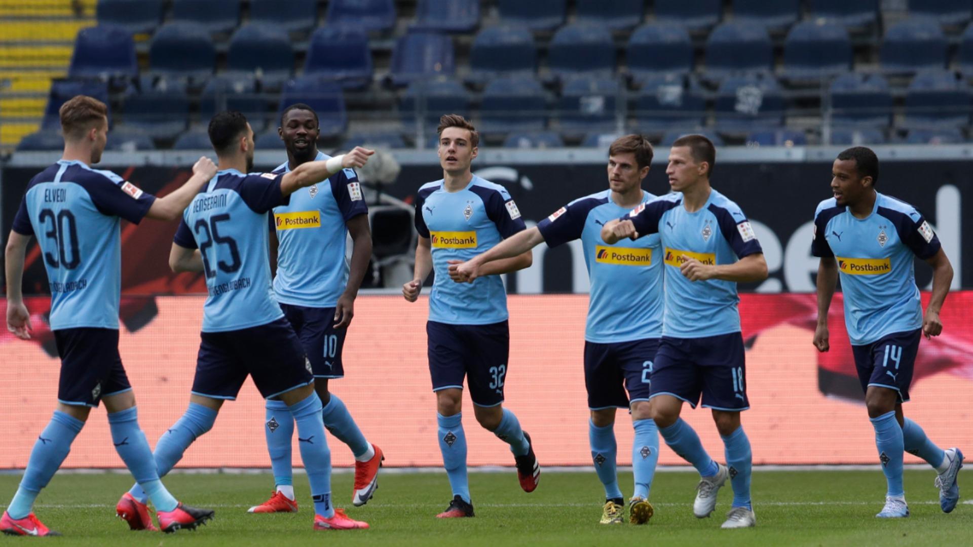 Eintracht Frankfurt v Borussia M'gladbach Match Report, 16/05/2020 ...