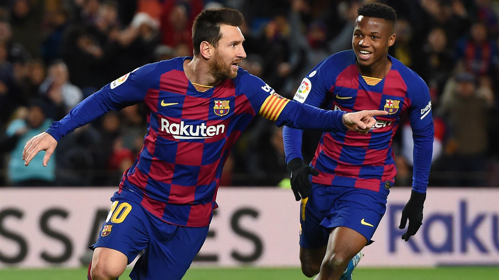Barcelona V Granada Match Report 19 01 20 Primera Division Goal Com
