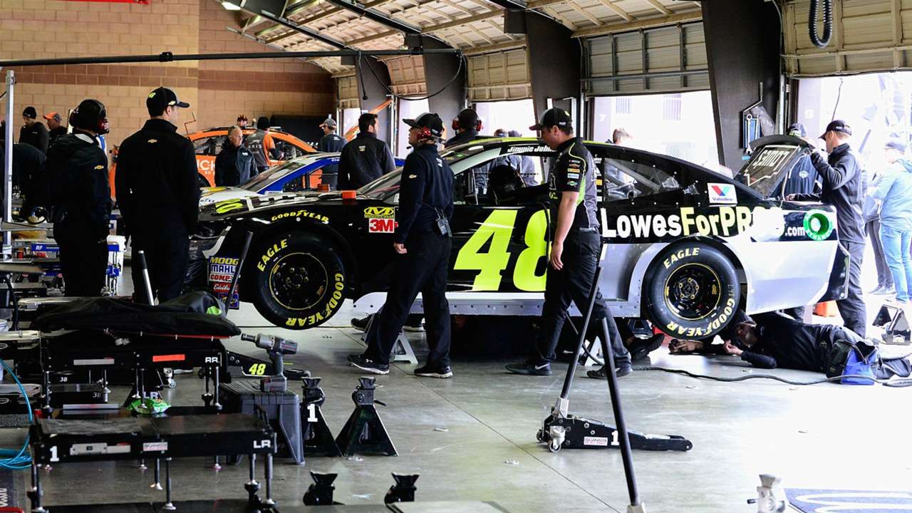Jimmie Johnson's No. 48 Chevrolet