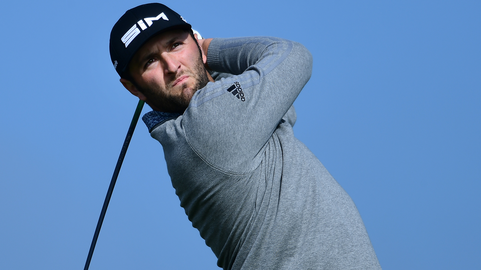 Jon Rahm leads at Torrey Pines; Tiger Woods five shots back