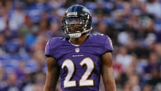 Ravens defensive back Jimmy Smith