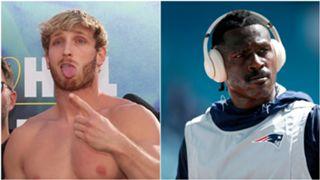 Logan Paul and Antonio Brown - cropped