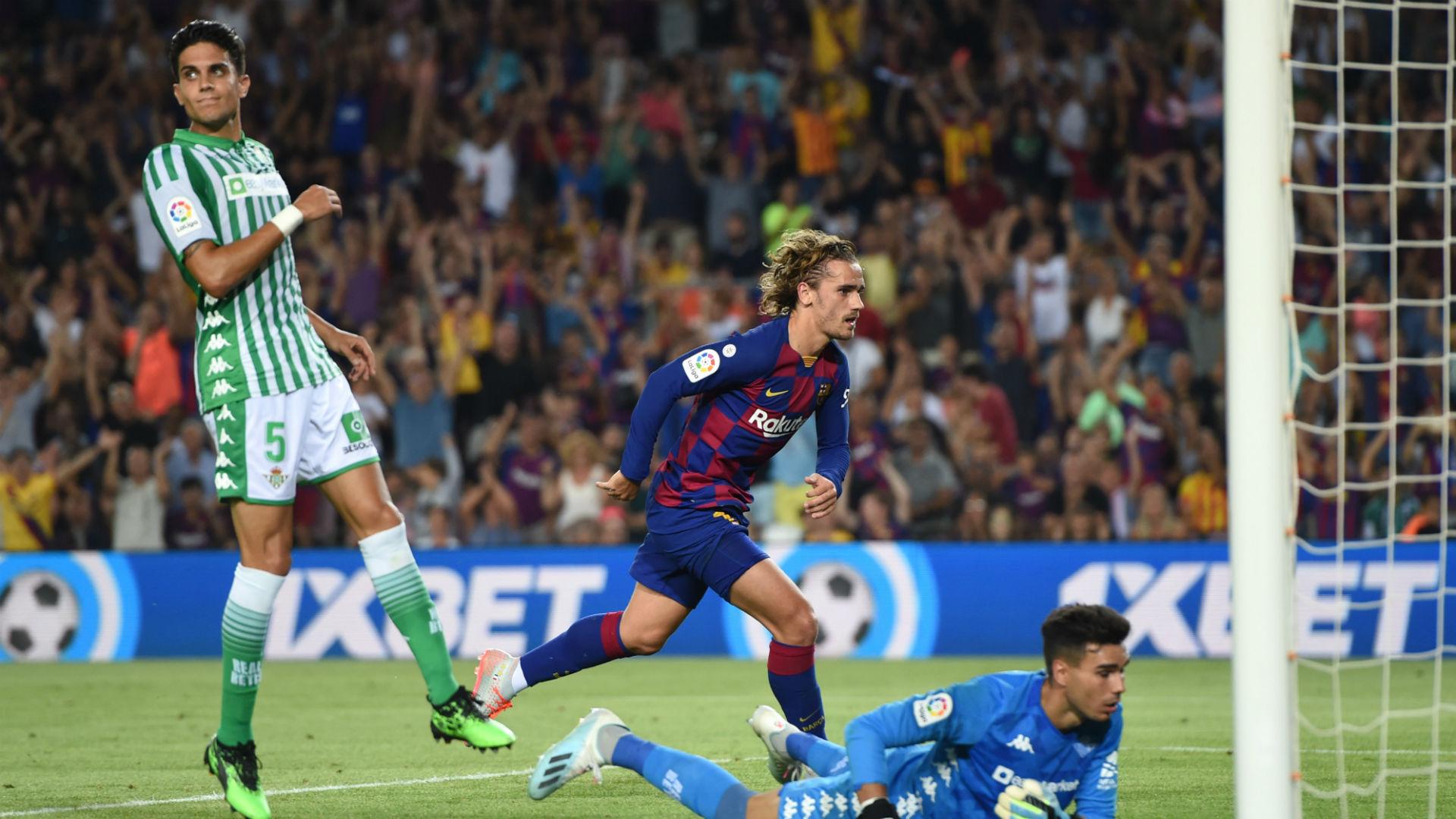 Barcelona V Real Betis Match Report 25 08 2019 Primera Division Goal Com