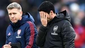 'Arsenal still very far from what I want' - Arteta demands improvement after Burnley draw
