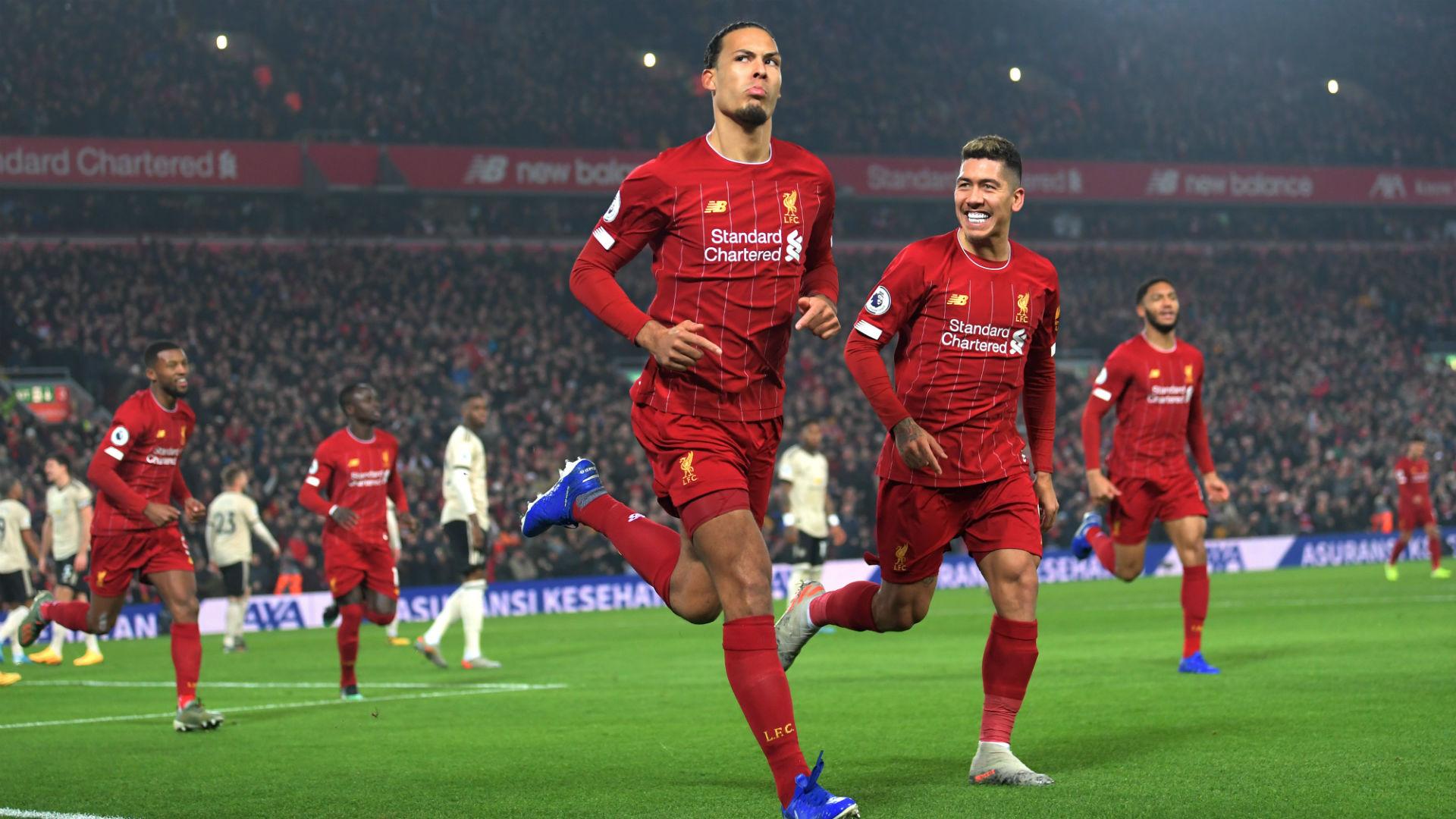 Liverpool V Manchester United Match Report 19 01 2020 Premier League Goal Com