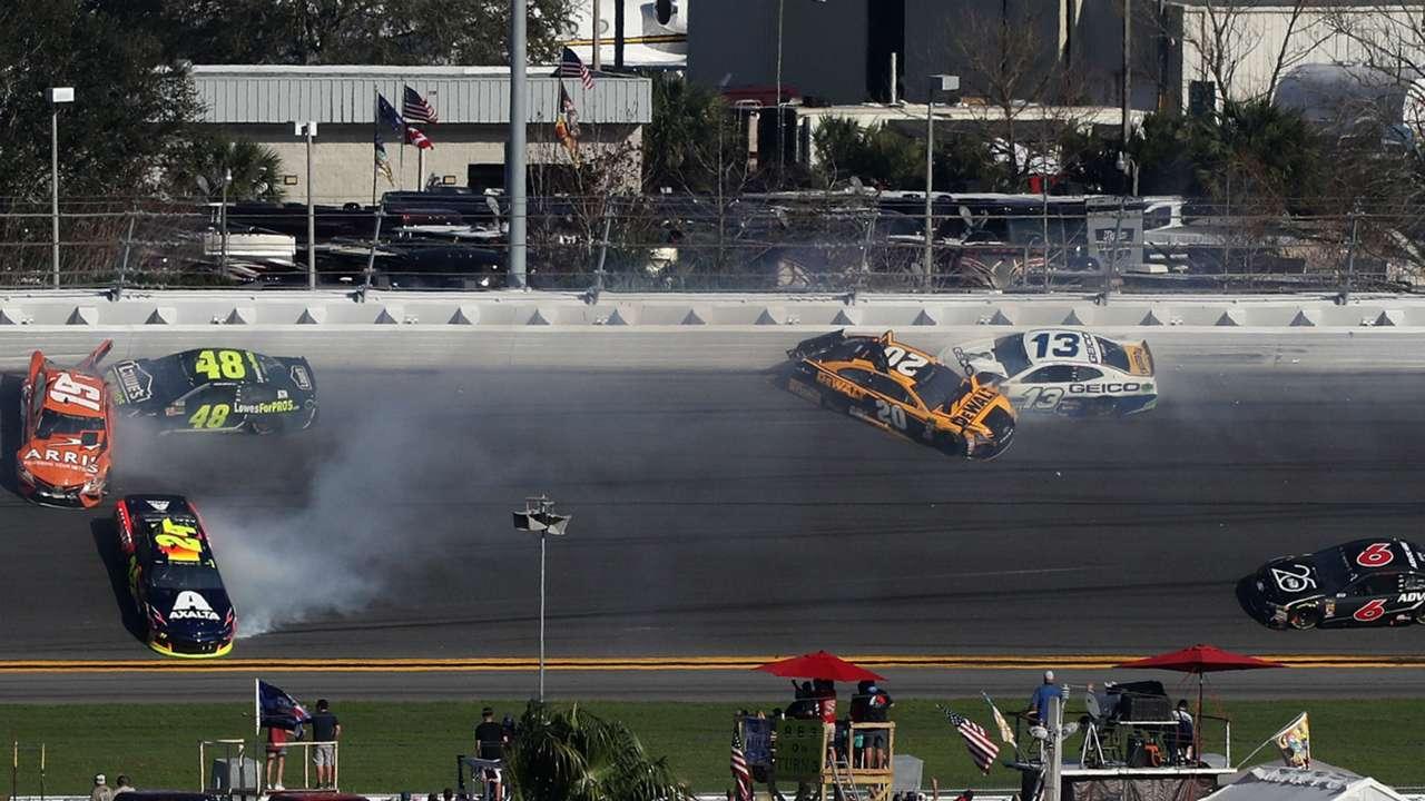 Wreck at Daytona