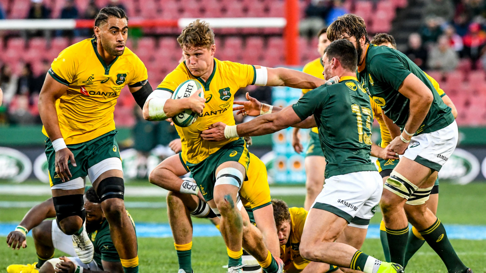 Australia Have A Lot To Look At After South Africa Defeat Says Wallabies Captain Michael Hooper Sporting News Australia